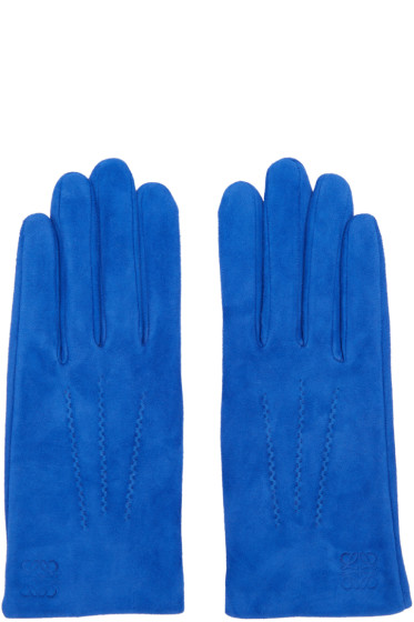 Loewe - Blue Suede Gloves
