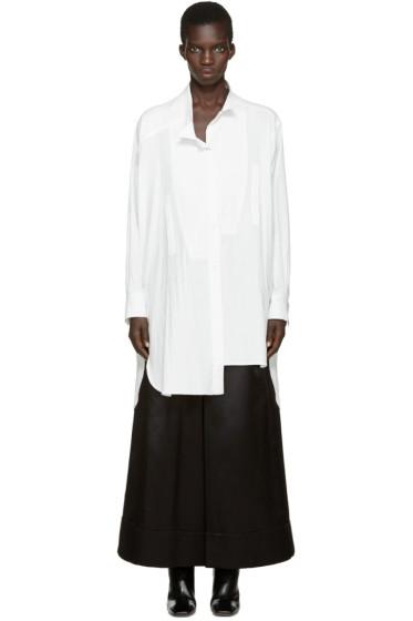 Loewe - White Asymmetric Shirt