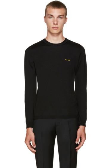 Fendi - Black Mini Monster Eyes Sweater