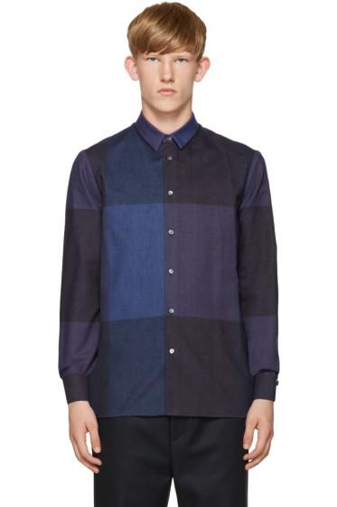 Stephan Schneider - Blue Check Flannel Shirt