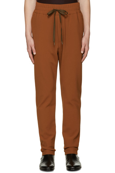 CMMN SWDN - Orange Stray Trousers