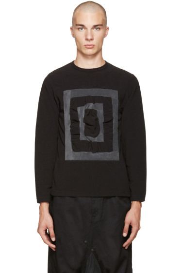 Ganryu - Black & Grey 3-D Pullover