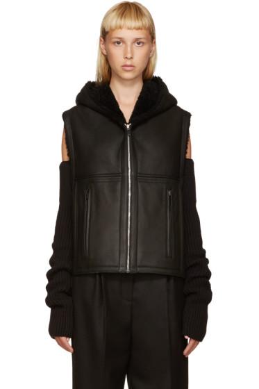 Nehera - Black Shearling Joris Vest