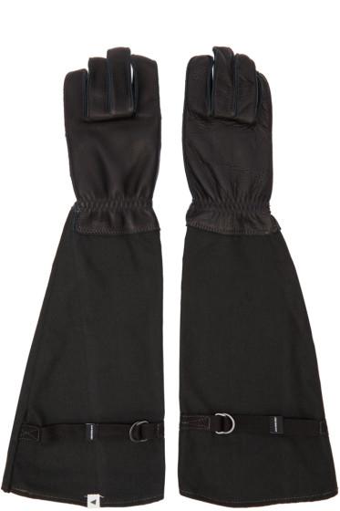 and Wander - Black Flame-Resistant Takibi Gloves