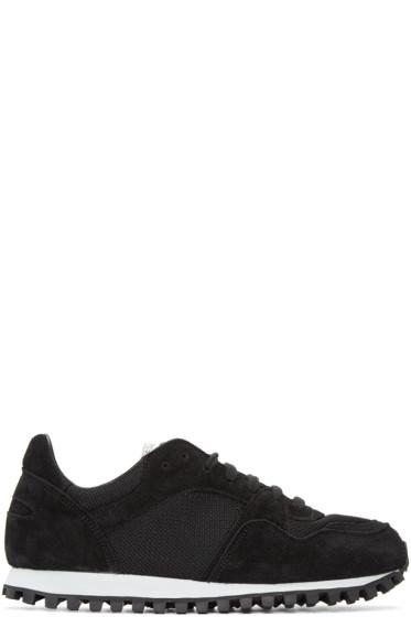 Spalwart - Black Mesh Marathon Sneakers