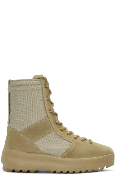 YEEZY - Taupe Military Boots