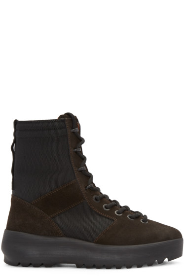 YEEZY - Brown Military Boots