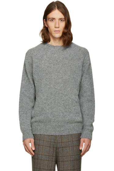 Noah NYC - Grey 'Cross Country' Sweater