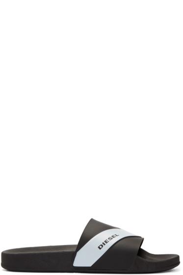 Diesel - Black Sa-Maral Sandals