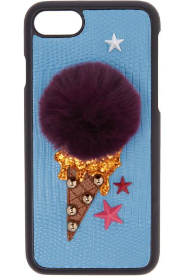 Dolce & Gabbana - Blue Gelato iPhone 7 Case