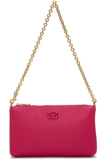 Dolce & Gabbana - Pink Small Chain Pouch