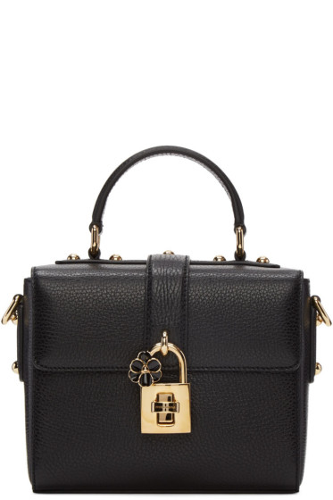 Dolce & Gabbana - Black Small 'Dolce Soft' Bag