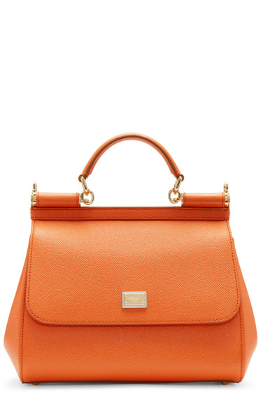 Dolce & Gabbana - Orange Medium Miss Sicily Bag