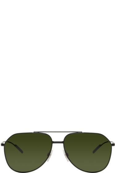 Dolce & Gabbana - Black Aviator Sunglasses