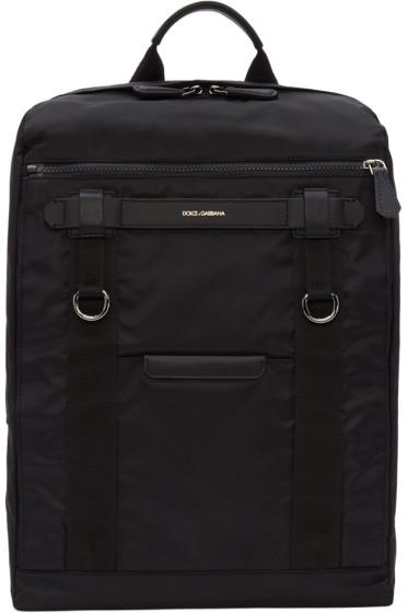 Dolce & Gabbana - Black Newtech Backpack