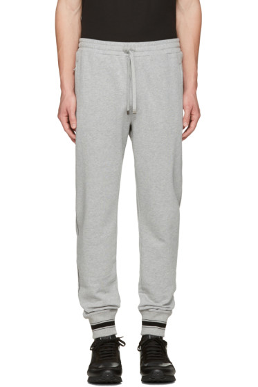 Dolce & Gabbana - Grey Crown Lounge Pants