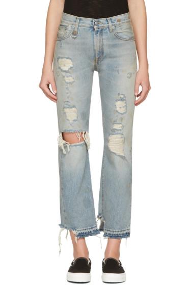 R13 - Blue Bowie Jeans