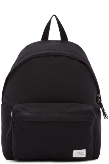 Rag & Bone - Black Canvas Standard Backpack