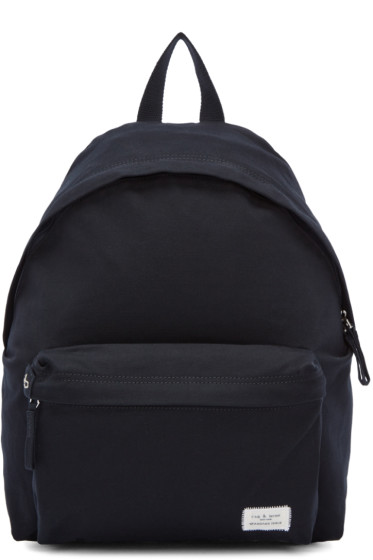 Rag & Bone - Navy Canvas Standard Backpack