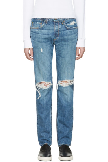 Rag & Bone - Blue Standard Issue Fit 2 Jeans