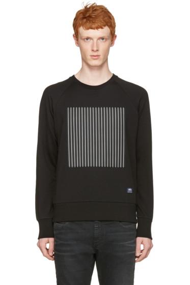 Rag & Bone - Black Rowing Stripe Pullover