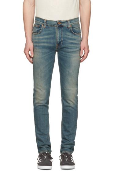 Nudie Jeans - Navy Thin Finn Jeans