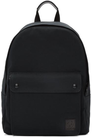 Belstaff - Black Tufnell Backpack