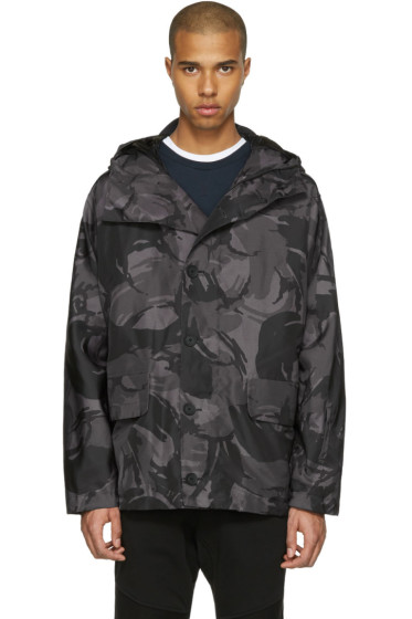 Belstaff - Grey Sophnet Edition Camo Jacket