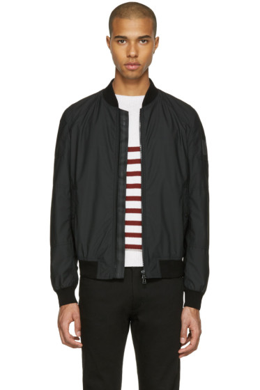 Belstaff - Black Stonefield Bomber Jacket