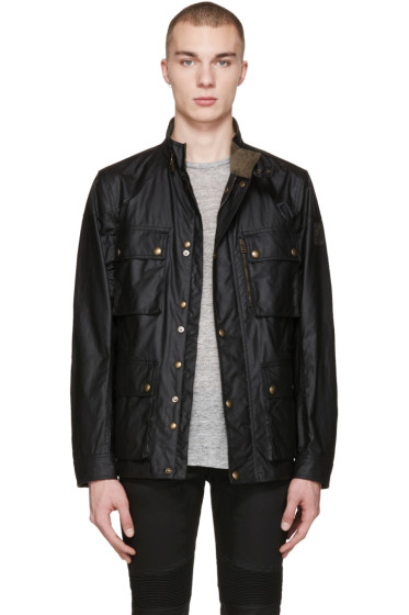 Belstaff - Black Trialmaster 2015 Jacket