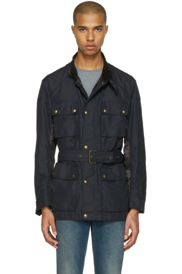 Belstaff - Black Sophnet Edition Belted Jacket