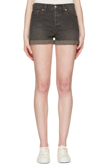 Levi's - Grey Wedgie Fit Shorts