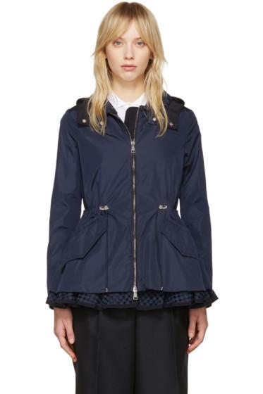 Moncler - Navy Lotus Hooded Jacket