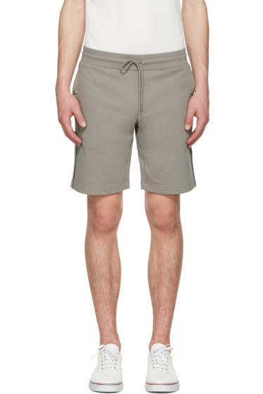 Moncler - Grey Side Stripes Shorts