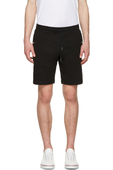 Moncler - Black Side Stripes Shorts