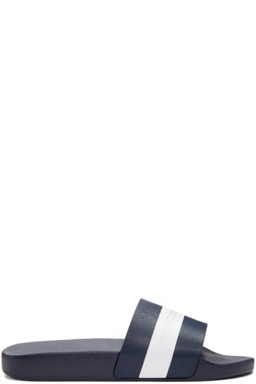 Moncler - Navy Ivane Sandals