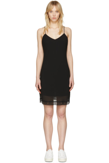 McQ Alexander McQueen - Black Slip Dress