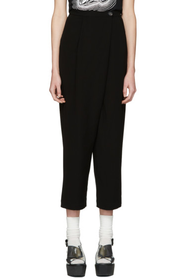 McQ Alexander McQueen - Black Crossover Trousers