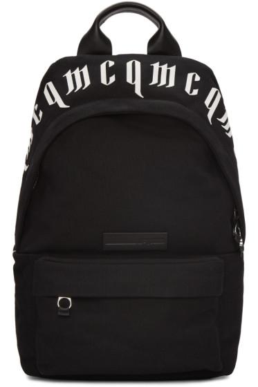 McQ Alexander McQueen - Black Classic Backpack