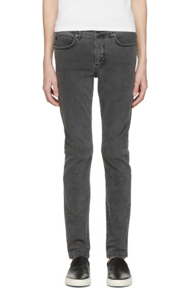 McQ Alexander McQueen - Grey Strummer 01 Jeans