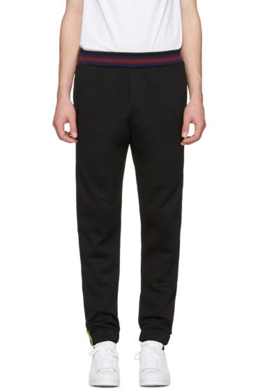 McQ Alexander McQueen - Black Cycle Lounge Pants