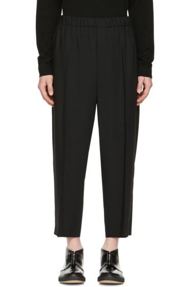 McQ Alexander McQueen - Black Cropped Neukoeln Trousers