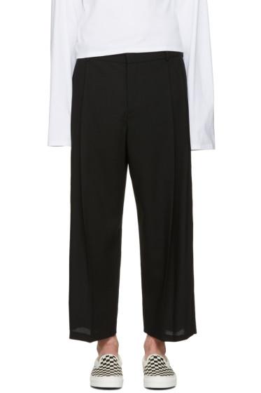McQ Alexander McQueen - Black Kilt Trousers