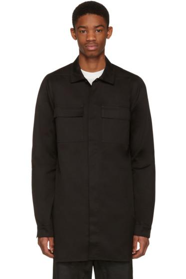 Rick Owens Drkshdw - Black Field Shirt