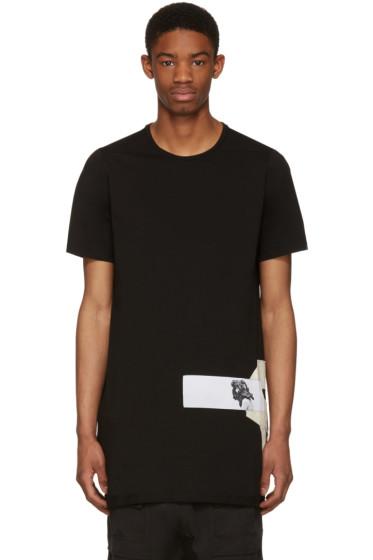 Rick Owens Drkshdw - Black Level Patch Logo T-Shirt