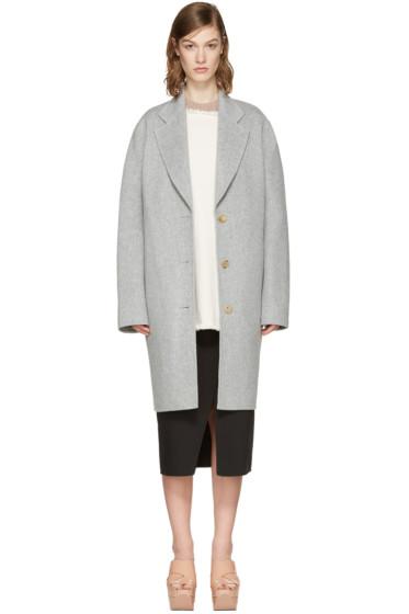 Acne Studios - Grey Landi Doublé Coat