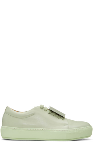 Acne Studios - Green Adriana TurnUp Sneakers
