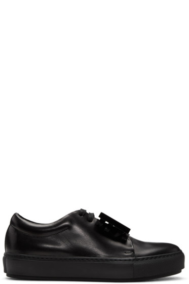 Acne Studios - Black Adriana TurnUp Sneakers