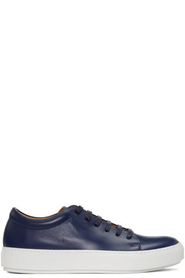Acne Studios - Navy Adrian TurnUp Sneakers
