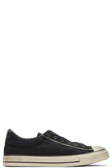 Converse by John Varvatos - Black CTAS Vintage Slip Sneakers